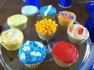 planet cupcakes