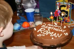 Roman's Birthday Cake 2