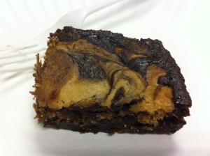 pb swirl brownies