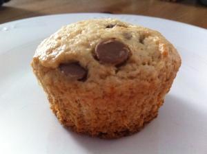 pb banana muffins
