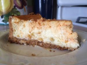 vanilla orange cheesecake