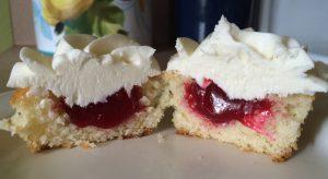 lemon raspberry cupcakes 2