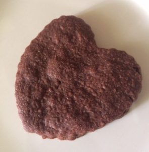 chocolate-heart-cookie